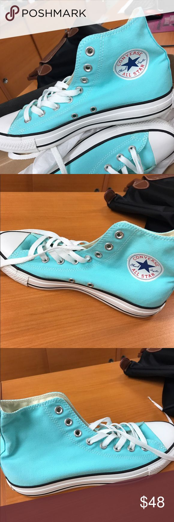 BRAND NEW CONVERSE HIGH TOP SHOES! BRAND NEW CONVERSE HIGH TOP SHOES! Woman's Size 10, Men's Size 8 (Unisex) Converse Shoes Sneakers