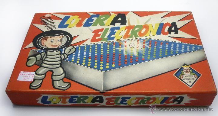 Juego - Loteria Electrónica - c/ 1940 - España