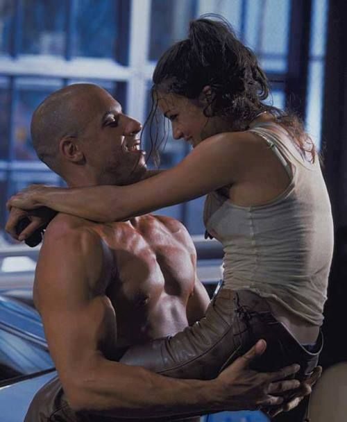 Vin Diesel & Michelle Rodriguez, in honor of the new Fast & Furious