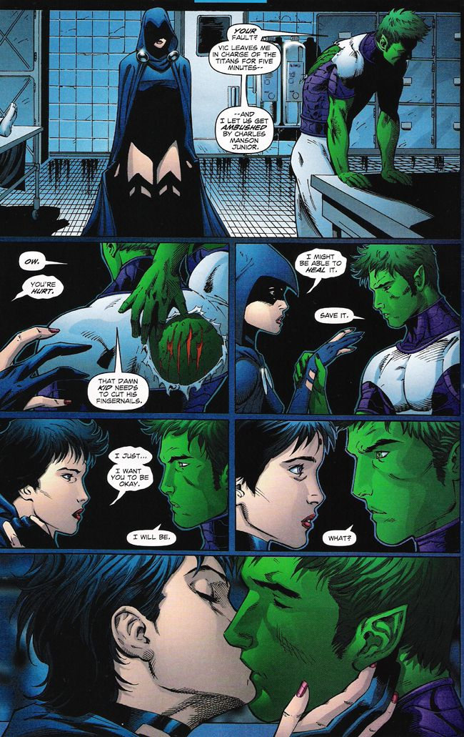 Raven Superhero And Beast Boy 92 best images about R...