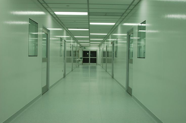 """In contrast to the last exciting images of corridors I have posted, I feel that this one depicts what can """"go wrong"""" with a corridor. This space is so reflective and eerie looking. Additionally, I think that the lighting choice was a mistake."""
