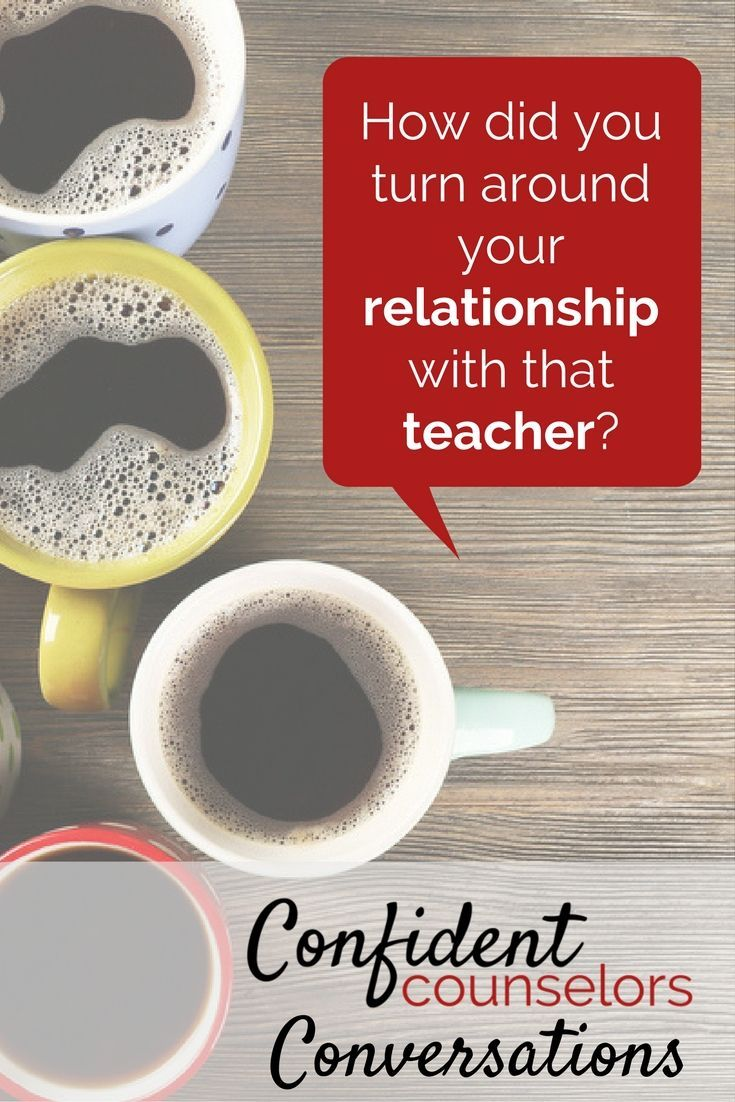 mental health counselor resume%0A Conversations  Improving Relationships with Teachers