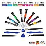 Review for Kaisi 16-Piece Precision Screwdriver Set Repair Tool Kit for iPad, iPhone & Othe... - Kimberly Jones  - Blog Booster