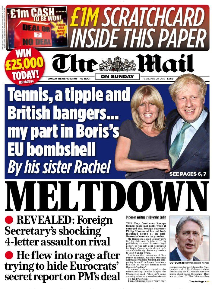 Mail on Sunday