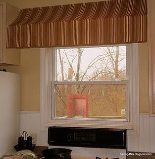 Great DIY Awning: Shower Curtain Rods U0026 Fabric