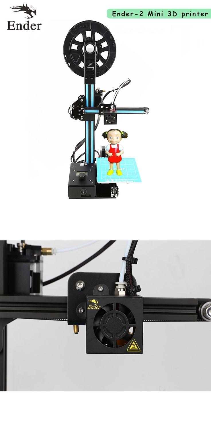 2017 Newest Ender-2 3D Printer DIY KIT Mini printer 3D machine Reprap prusa i3 tarantula 3d printer 3D with Filament A6 A8