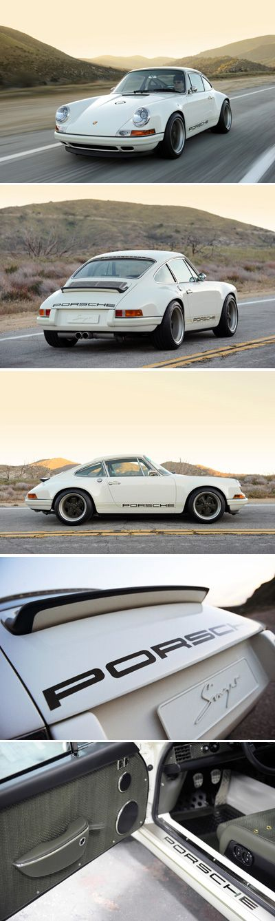 Forget matching numbers. This is the real shit. Singer Porsche/ White.