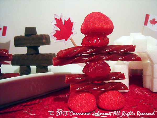 How To Make Inuksuk Treats For Canada Day