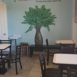Photo of Yogurt Shop - Danville, CA, United States. Yogurt Shop Seating Area
