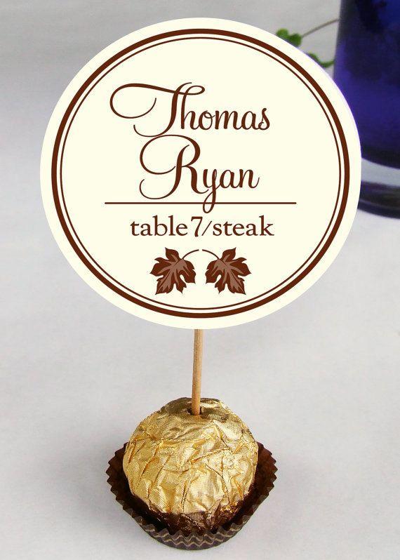 Wedding Reception Ferrero Rocher Escort by DesignsByDirection