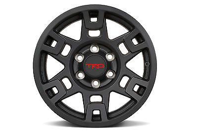 Set of 4 TRD Toyota 17 Inch Black TRD Pro Wheel for 4Runner/Tacoma/FJ-New, OEM