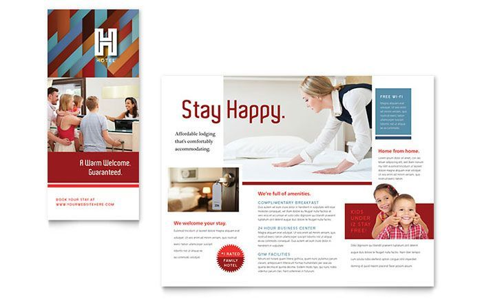 Auto Mechanic Brochure Template by @StockLayouts Brochure - hotel brochure template