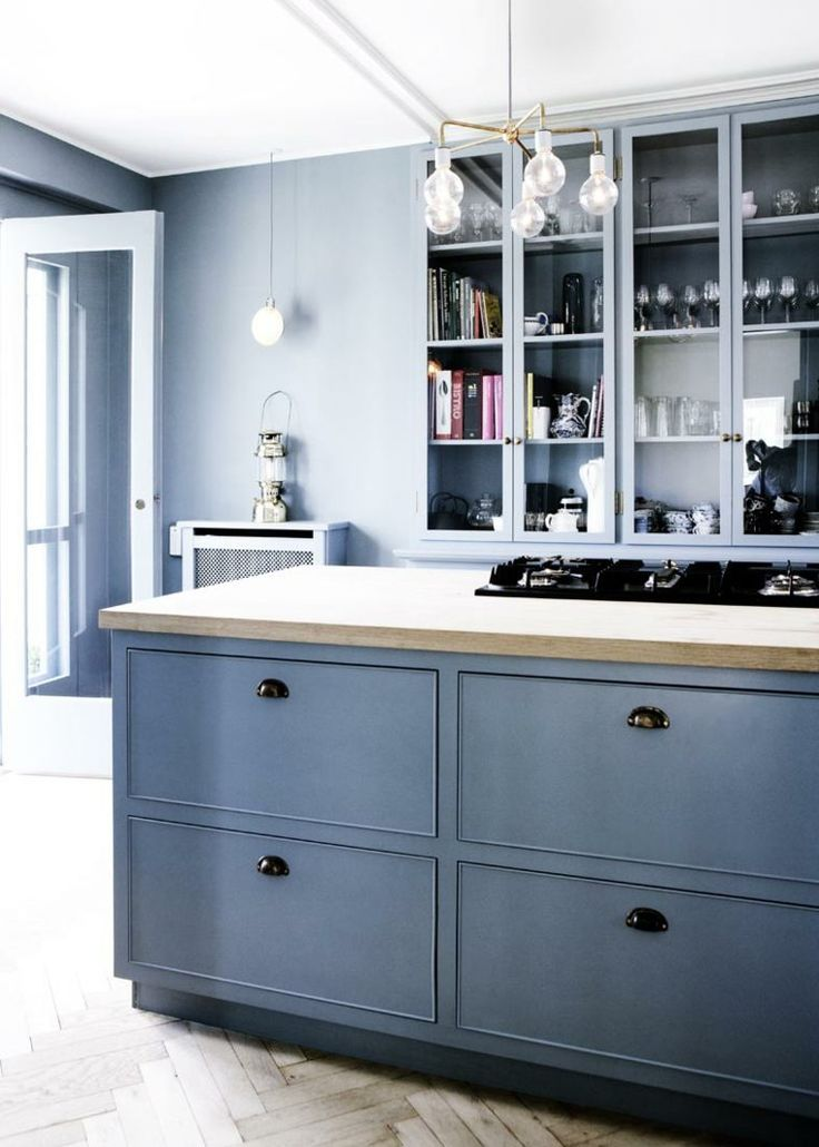 Grey kitchen. Farrow & Ball.