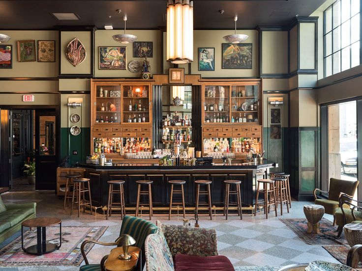 In true Ace fashion, this lobby bar is the hotel's pulse point. It's where you'll find us—and guests from other hotels—hitting the Sazeracs.