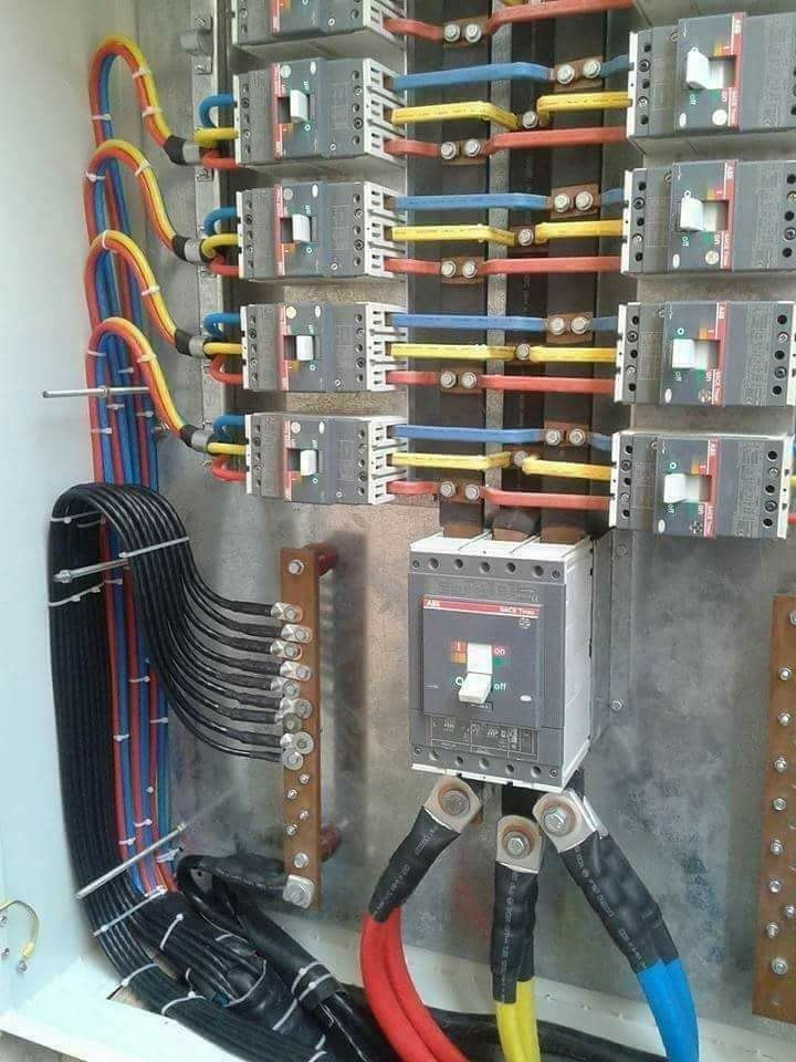 Once the power leaves the electrical service panel through the hot wire(s)  of a circuit and… | Electrical installation, Electrical projects, Electrical  panel wiringPinterest