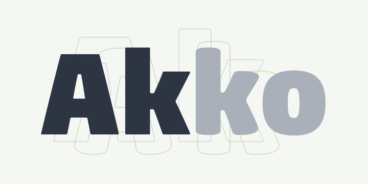 Akko Pro Rounded (HOT font) - http://fontsdiscounts.com/akko-pro-rounded-hot-font/