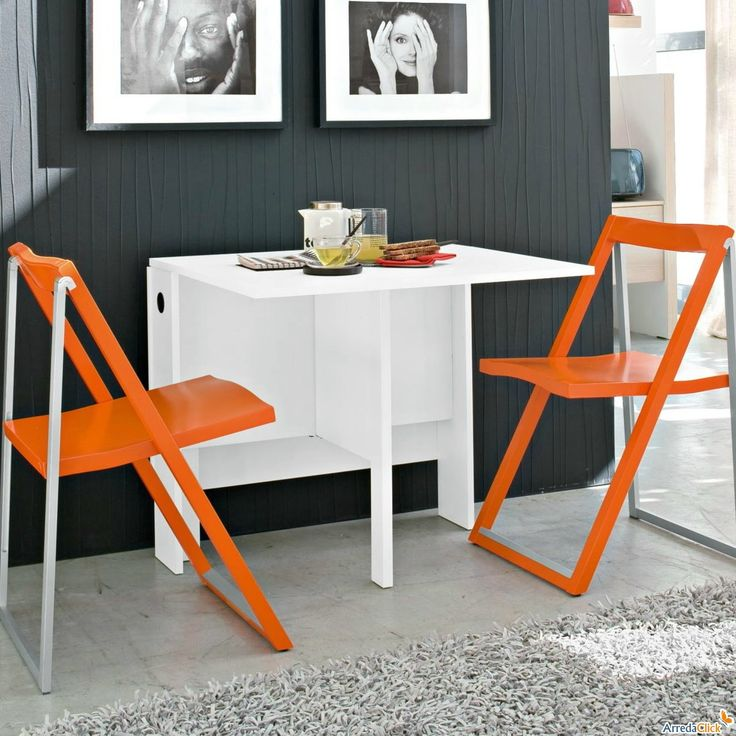 Table white stylish modern cool spazio white folding console table as a  simple modern stylish white15 best Spacesavers   Folding Table images on Pinterest   Folding  . Folding Dining Room Chairs Canada. Home Design Ideas