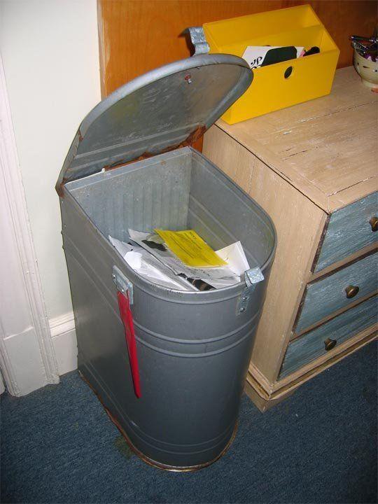 Look!: Mailbox Recycling Bin — Boston