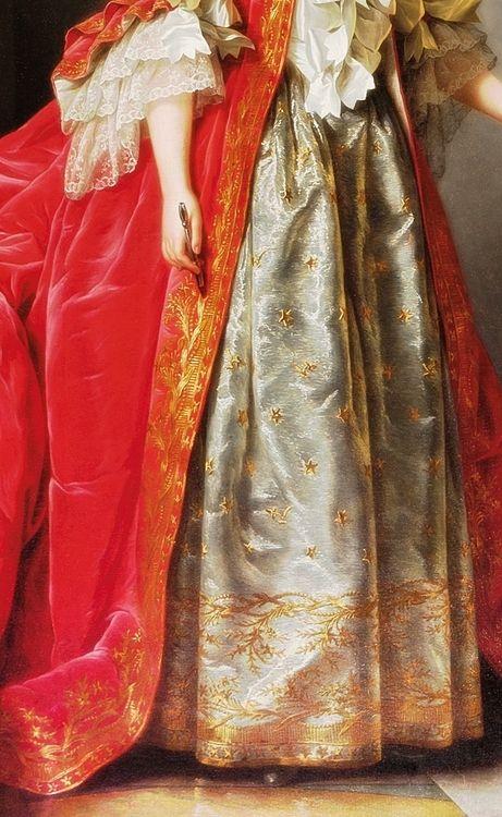 Portrait of Madame Adélaïde (1732-1800) (Detail) Adélaïde Labille-Guiard (1749–1803):