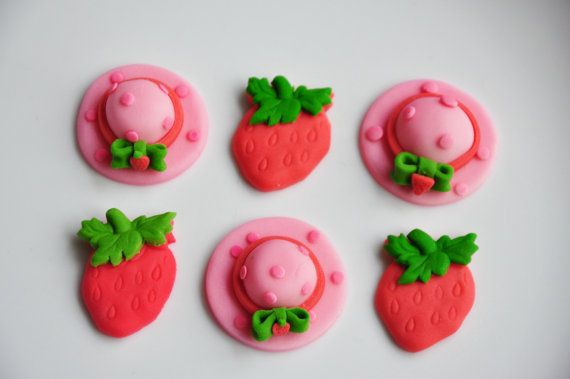 Strawberry Shortcake Cake Toppers Singapore