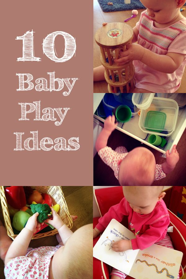 Simple baby play ideas for the under 12 months crew