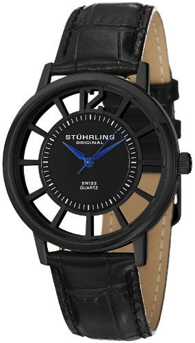 Stuhrling Original Men's 388S.33551 Classic Winchester Swiss Quartz Black Watch Set « Holiday Adds . Click pics for price