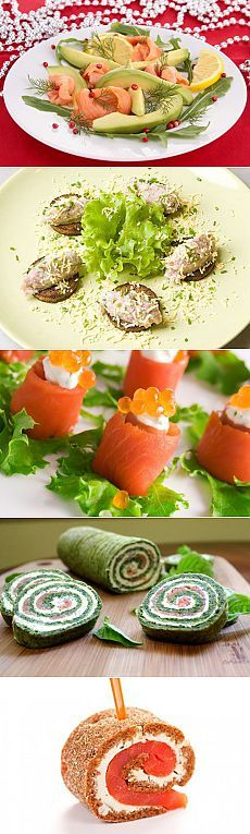 Холодные рыбные закуски на Новый год | ДОМАШНИЙ ОЧАГ