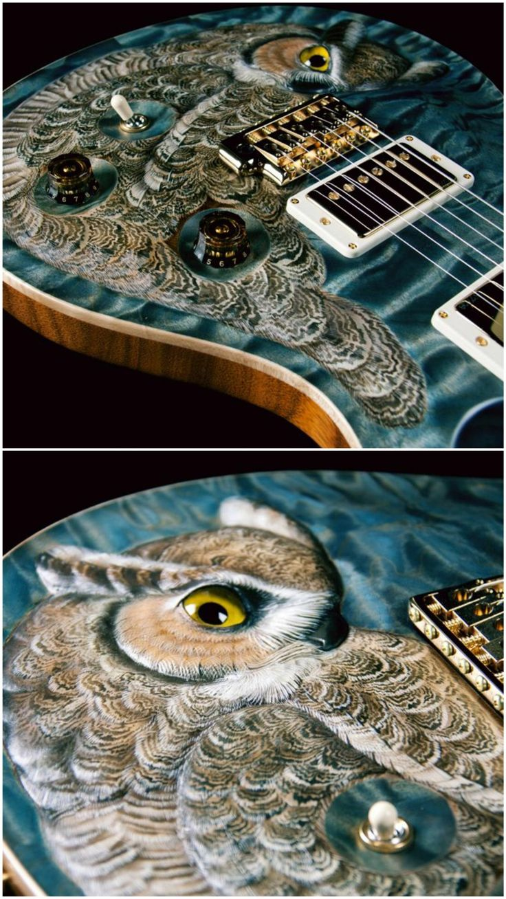 PRS private stock limited Great Horned Owl