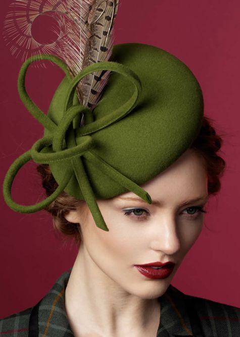Rachel Trevor - Morgan Millinery, A/W 2014. #passion4hats