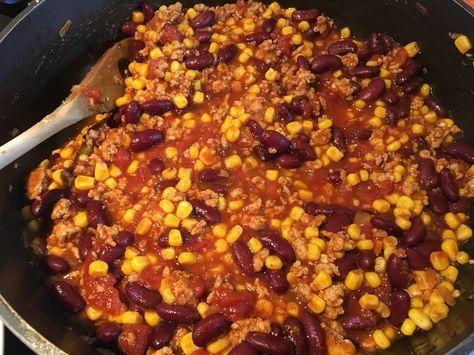 Das beste Chili con Carne, ein sehr leckeres Rezept aus der Kategorie Eintopf. Bewertungen: 531. Durchschnitt: Ø 4,6.