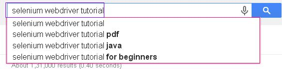 What Is Ajax Auto Suggest Drop List?   Before learning almost how to grip ajax machine propose drib downward list  In selenium webdriver  ...