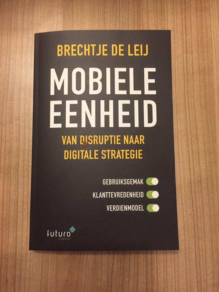 """Mooie reactie van Marco over het boek 'Mobiele Eenheid' van Brechtje de Leij: """"Absolute aanrader. Tenzij uw organisatie niet 2020-proof hoeft te zijn (en ten onder mag gaan)"""". #mobieleeenheid #brechtjedeleij #futurouitgevers"""