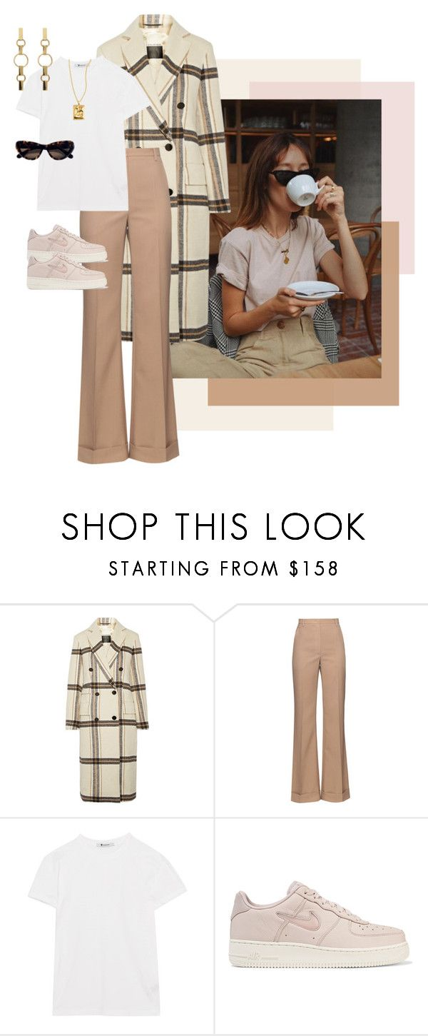"""Untitled #177"" by karoline-344 ❤ liked on Polyvore featuring By Malene Birger, Nina Ricci, T By Alexander Wang, NIKE and Tom Ford"