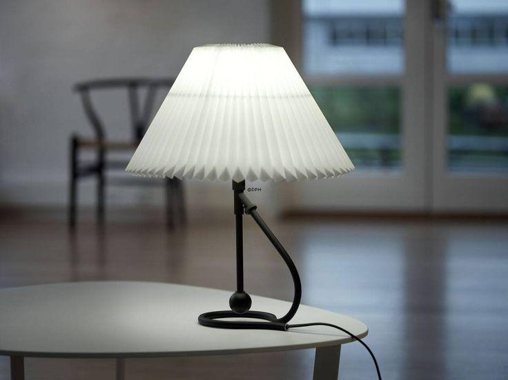 Le Klint kombineret bordlampe og væglampe | sort | Nr. lk-306-so | Alt. 306SORT | DPH Trading