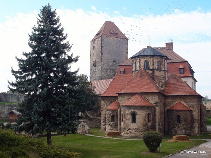 Romanesque chapel at Querfurt Castle in Saxony-Anhalt, Germany