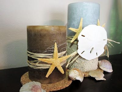 11 Beautiful Diy Beach Inspired Candles And Candleholders