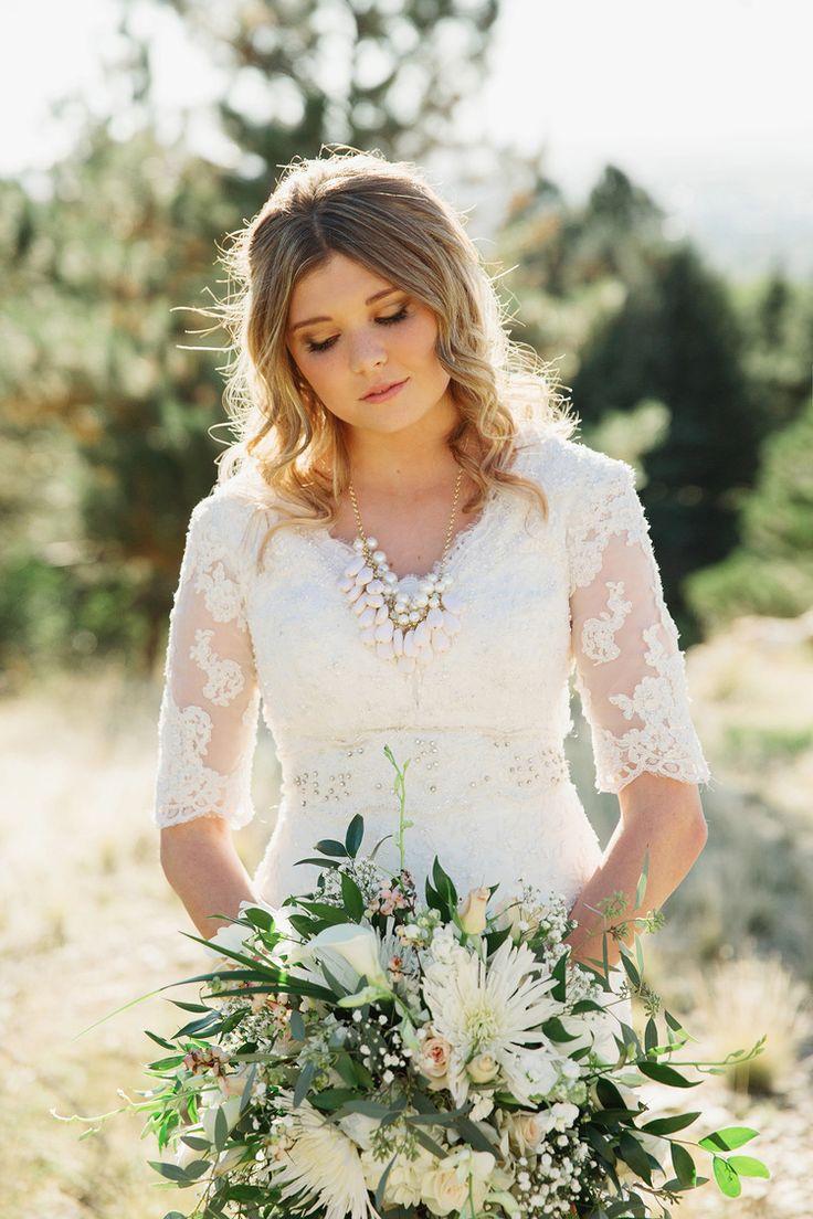 327 best modest wedding gowns ii images on pinterest | modest