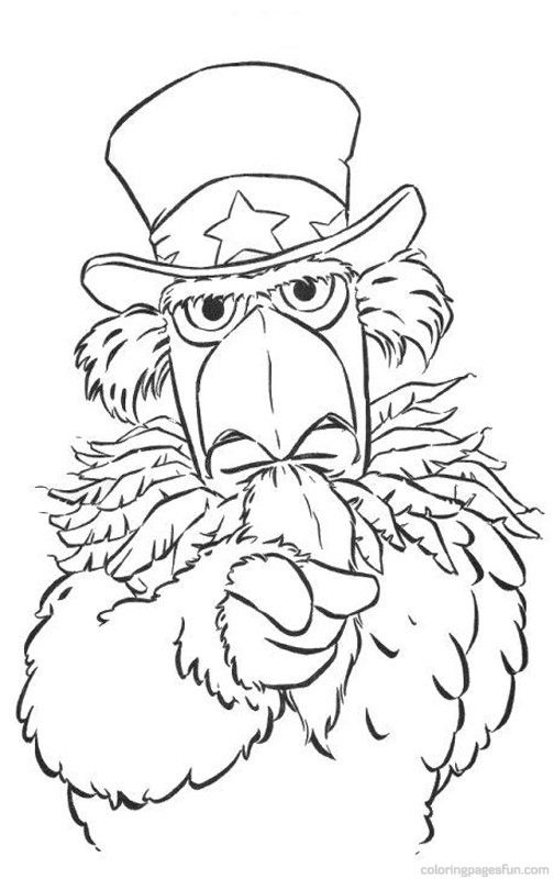muppets coloring pages 10 free printable coloring pages - Taser Gun Cartoon Coloring Pages