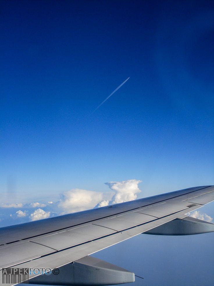 Flying....