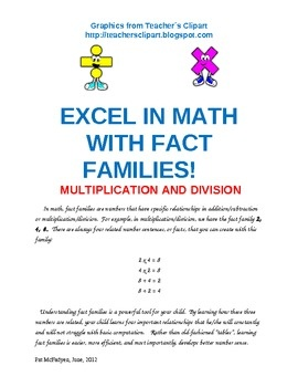 Help students master basic multiplication and division facts while building a solid foundation of number sense.  Included is a list of the essentia...: Solid Foundation, Numbers Sense, Basic Multiplication, Help Student, Division Facts, Student Master, Two Facts, Buildings, Essentia