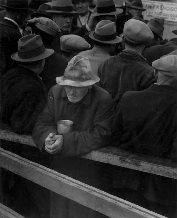 Dorothea Lange White Angel Breadline, San Francisco, California, 1933
