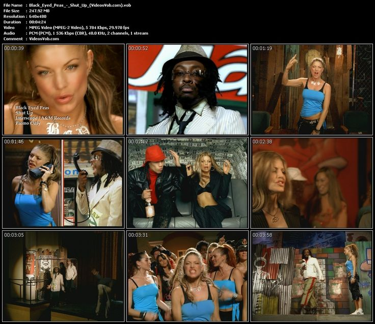Black Eye Peas Shut Up 47