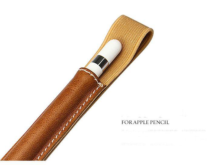 Leather Sleeve Pencil Case Holder Pocket Sling for Apple iPad Pro Pencil Stylus