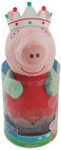 Peppa Pig Gant marionnette Bain à bulles: The Peppa Pig Bath Puppet Bubble Bath Set means you can bring Peppa to life with this wonderful…