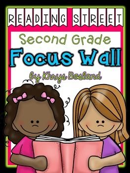 This colorful and vibrant set contains everything that you will need to create a Reading Street Focus Wall for the entire year! Every week and every unit is included! This is intended to be used with the current 2013 Scott Foresman Second Grade Reading Street (Common Core Edition), as well as the 2012 Reading Street.