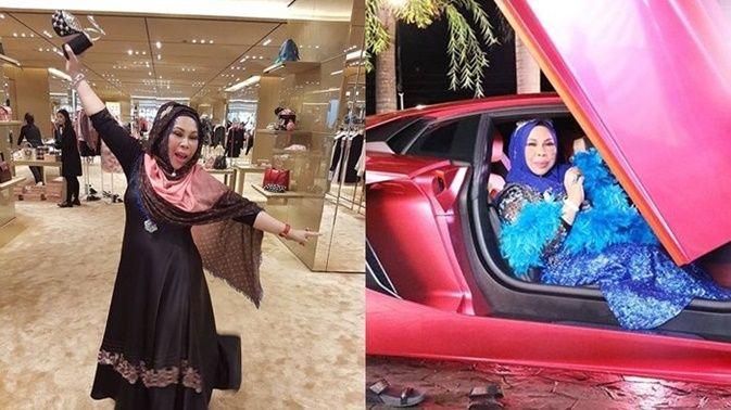 Bikin ngiler aja! Artis Malaysia ini saingi kemewahan Syahrini degan pamer uang penuh di Bathub