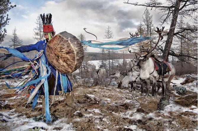 The Reindeer Riders of Mongolia ~ a beautiful symbiotic relationship between human and reindeer
