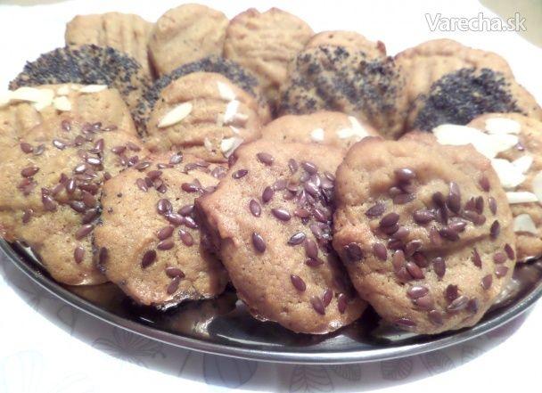 Sušienky z arašidového masla z troch surovín (fotorecept) - Recept