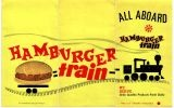 My Favorite Restaurant w/mom: the Hamburger Train on Queens Blvd, with a counter RR train that delivered your food! My mom & I were eating there when Kennedy was assasinated in Nov. 1963; we heard it on the radio, and walked out onto a totally silent street...Rr Training, Hamburgers Training, Training Parties