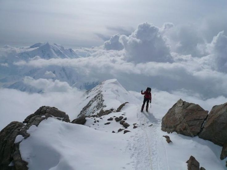 Summit of Vinson Massif